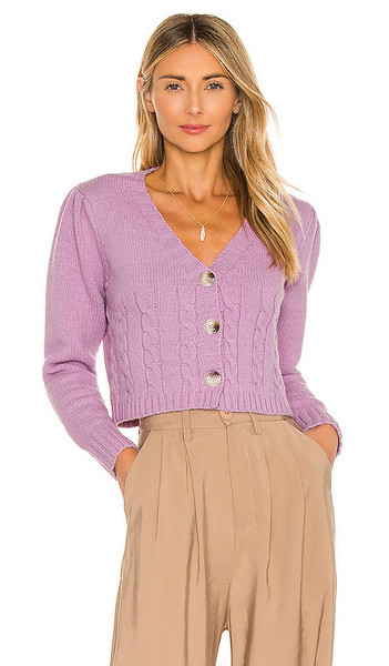 Tularosa Tawnie Sweater in Purple in lilac