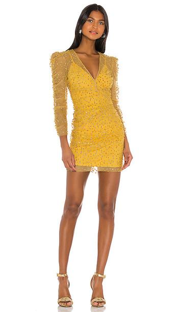 Rêve Riche Yala Dress in Yellow