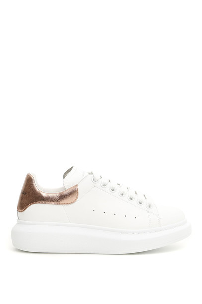 Alexander McQueen Oversized Sneakers in gold / rose / white