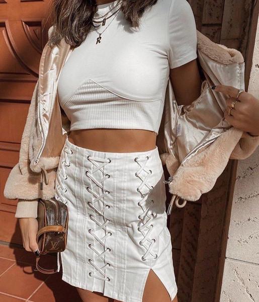 jacket skirt top