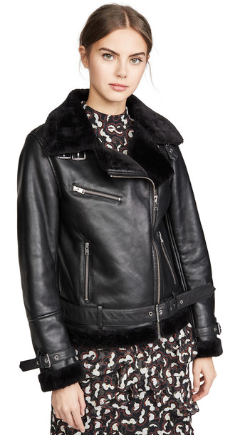 ONE by LAMARQUE ONE by Zoe Coat in black