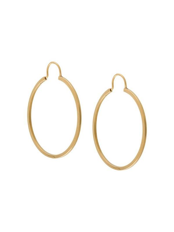 A.P.C. hoop earrings in gold