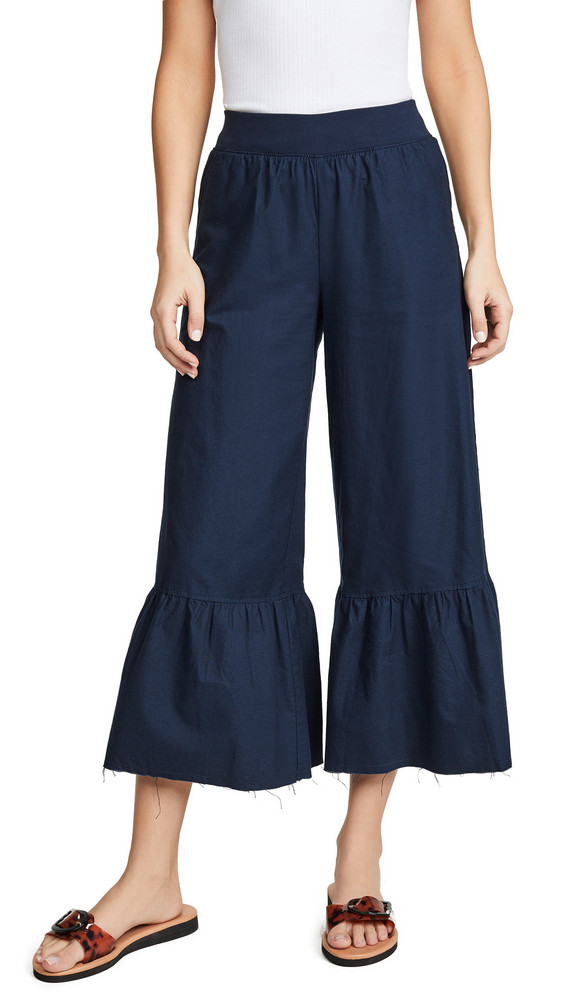 ATM Anthony Thomas Melillo Wide Leg Pants in midnight