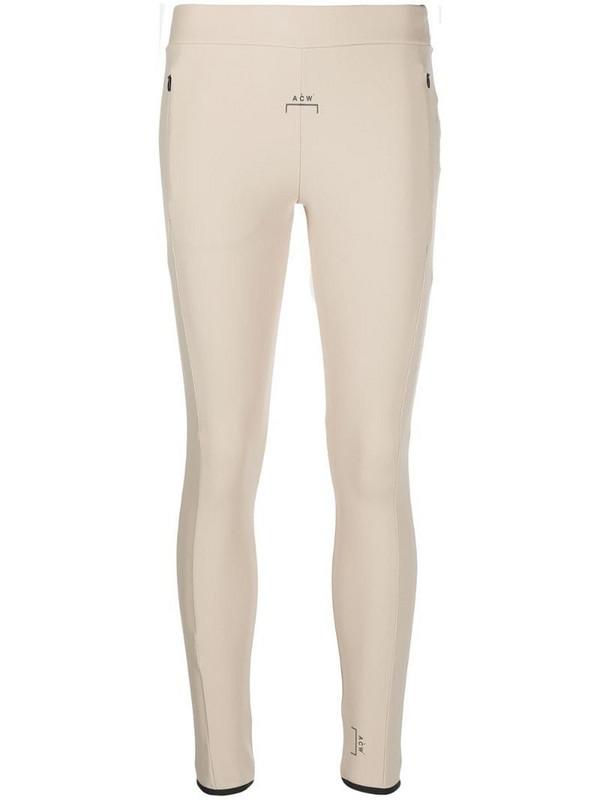 A-COLD-WALL* bone colour leggings in neutrals