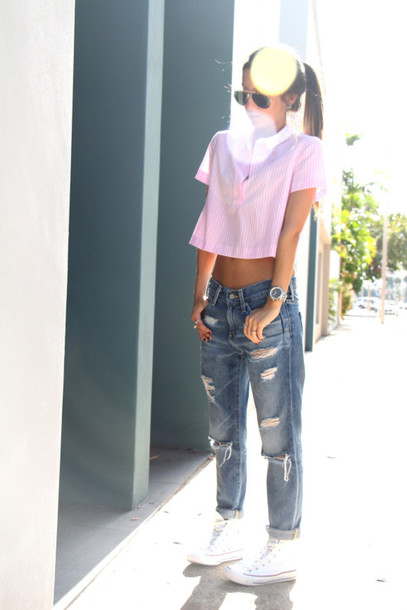 the material girl top jeans sunglasses shoes jewels