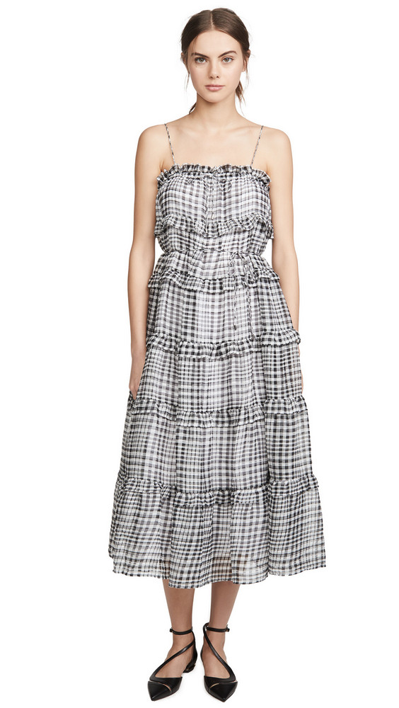 C/Meo Collective Stealing Sunshine Dress in black