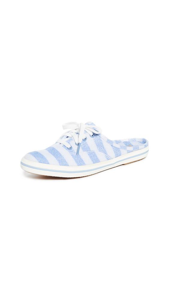 Keds x Kate Spade New York Stripe Moxie Mule Sneakers in blue