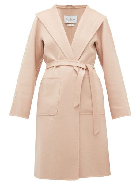 Max Mara - Lilia Coat - Womens - Light Pink