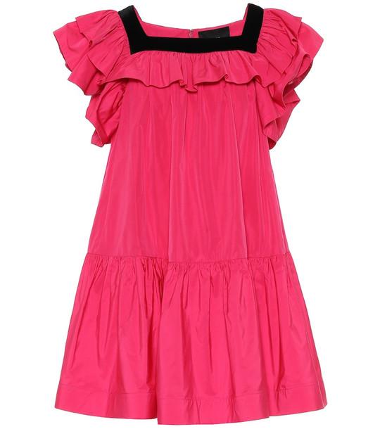 Marc Jacobs Taffeta minidress in pink