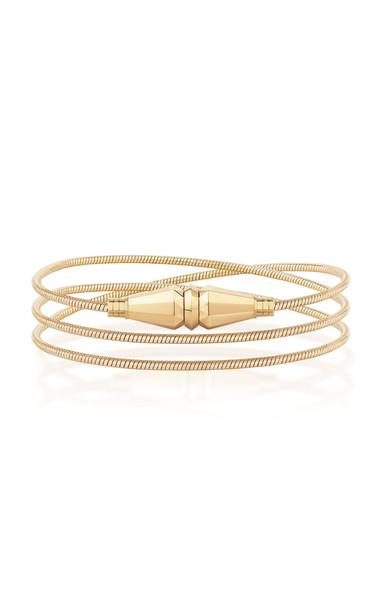 Boucheron Jack de Boucheron Convertible Necklace/Triple Wrap Bracelet in gold