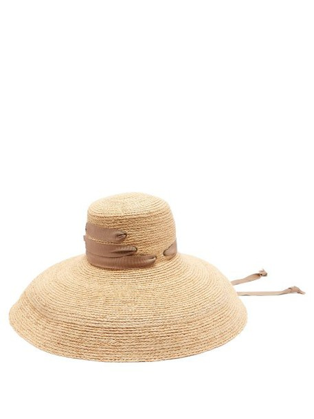 Lola Hats - Espartina Straw Hat - Womens - Brown