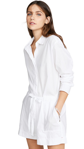 XIRENA Georgie Romper in white