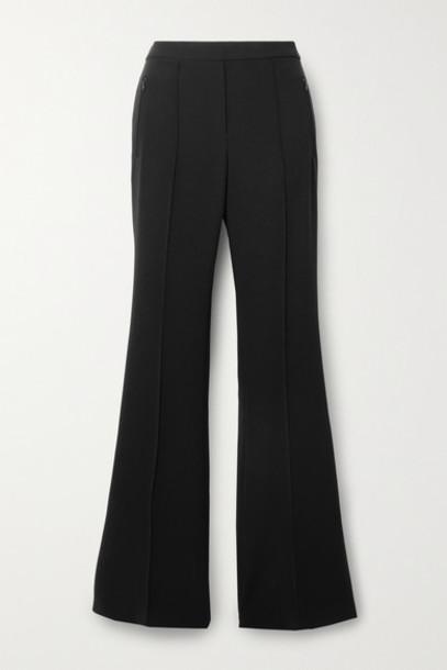 Theory - Demitria Crepe Flared Pants - Black