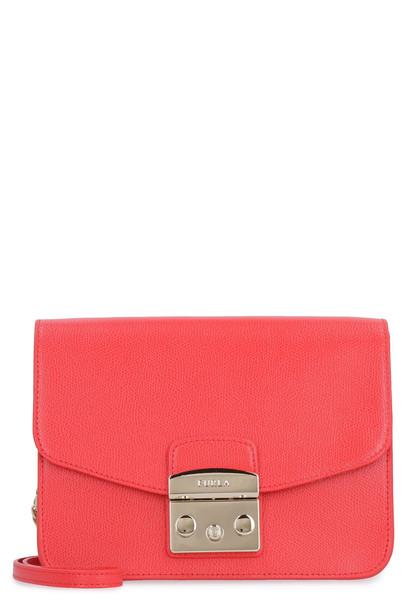 Furla Metropolis S Shoulder Bag in red