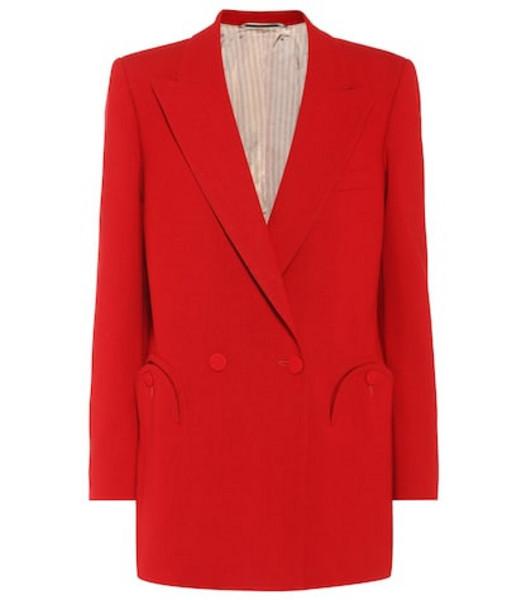 Blazé Milano Cool & Easy Red wool blazer