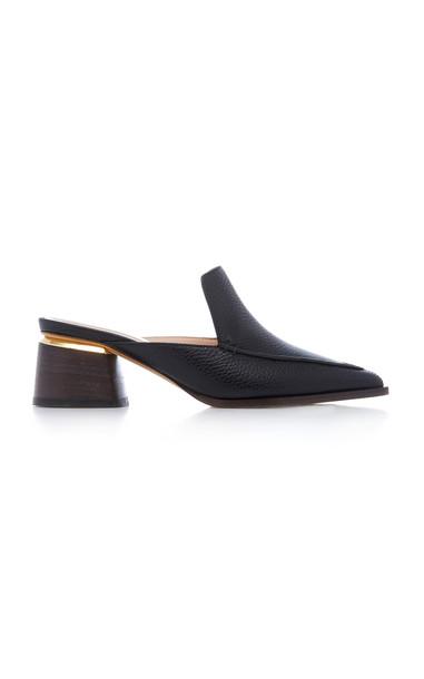Nicholas Kirkwood Beya Leather Mule Size: 39 in black