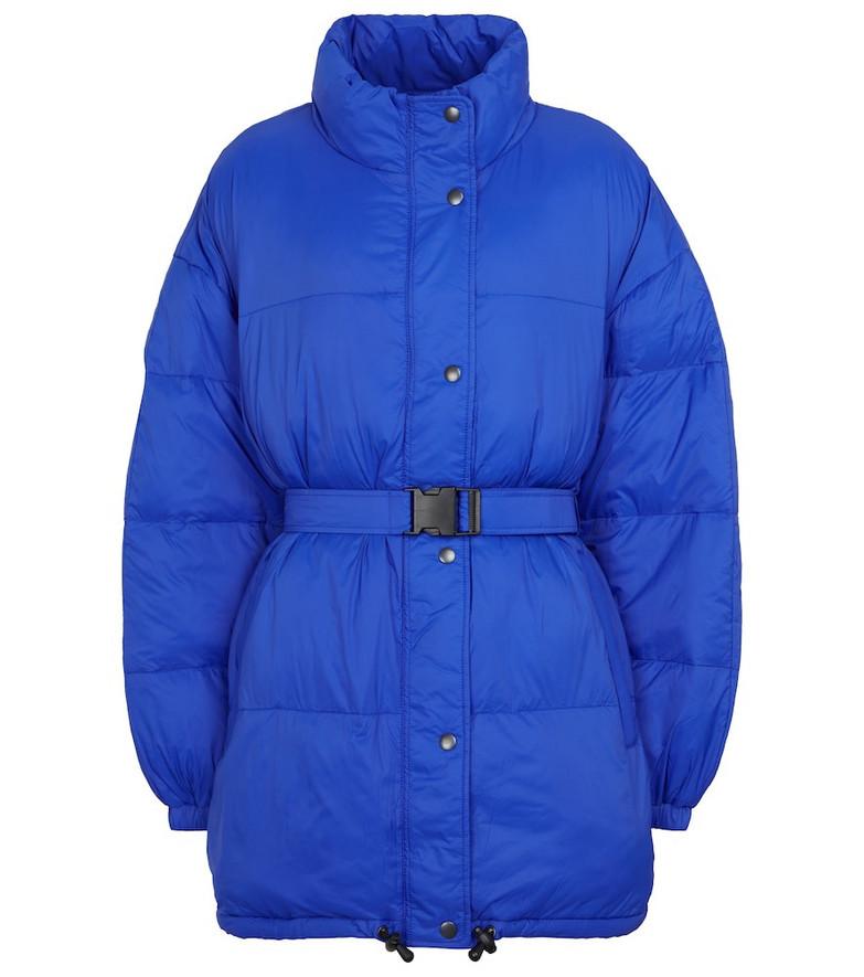 Isabel Marant, Étoile Dilys puffer coat in blue