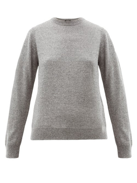 A.P.C. A.p.c. - Nola Cashmere Sweater - Womens - Grey