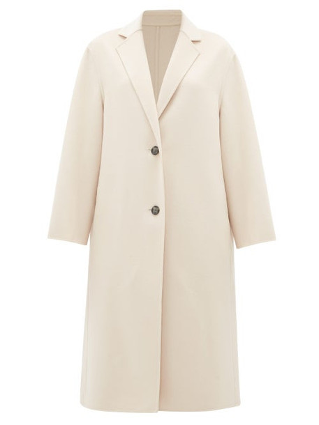 Joseph - Newman Single-breasted Wool-blend Coat - Womens - Light Pink