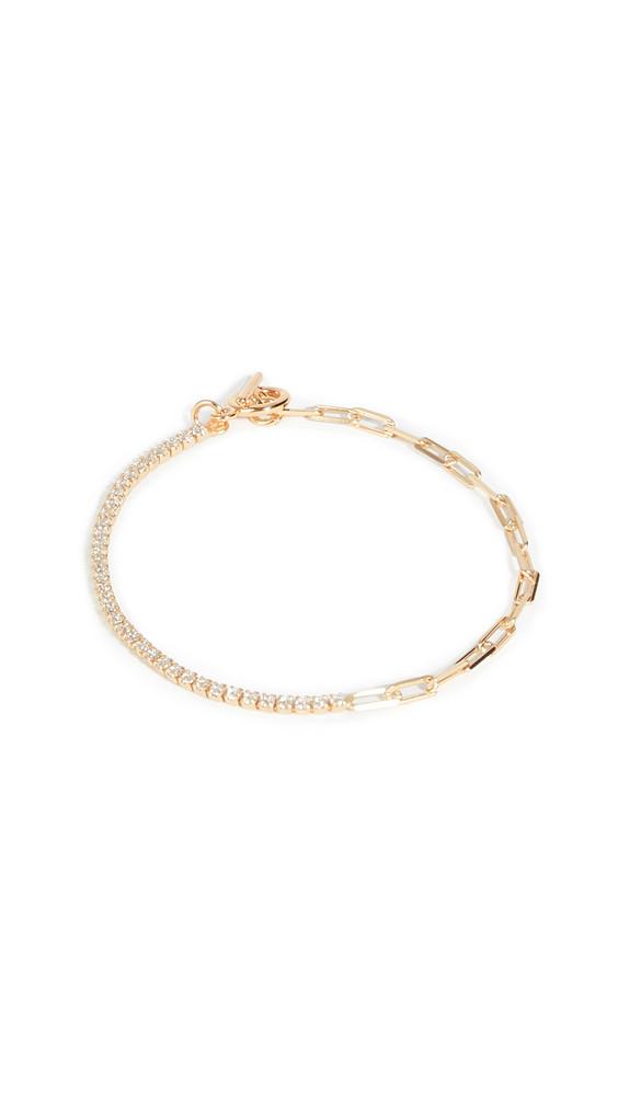 Shashi Bijou Bracelet in gold