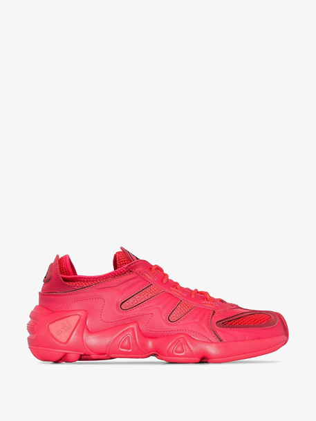Adidas red FYW S-97 low top sneakers
