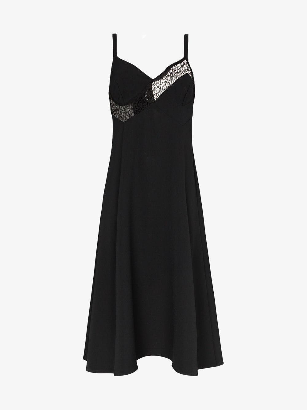 Beaufille Palici midi dress in black