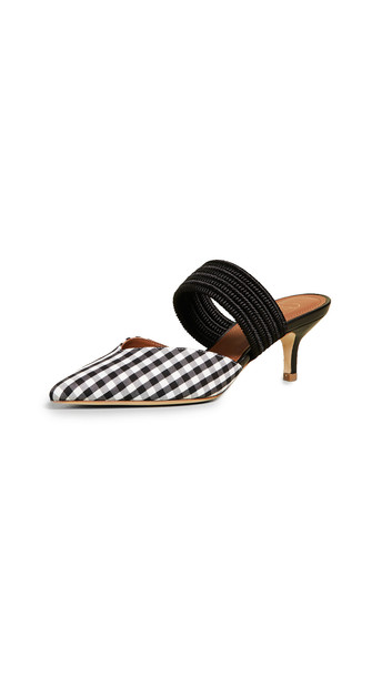 Malone Souliers Maisie 45 Pumps in black / white