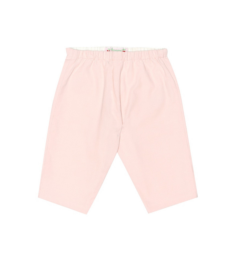 Bonpoint Baby corduroy pants in pink