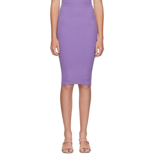 giu giu Purple Nonna Tube Skirt
