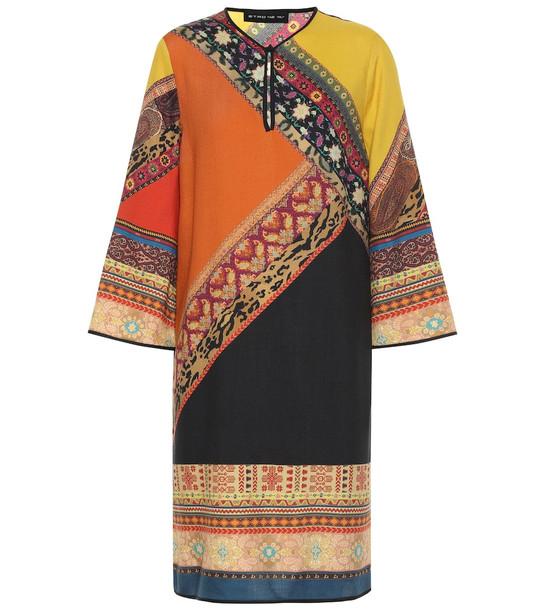 Etro Wool and silk tunic dress