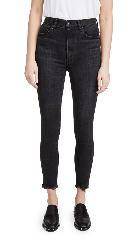 MOUSSY VINTAGE Dresden Rebirth Skinny Jeans in black