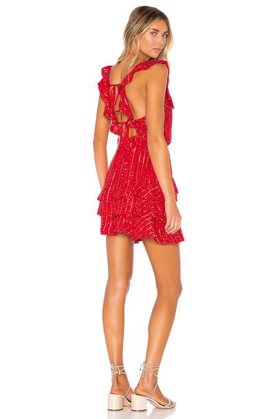 Sundress Eray Dress in red