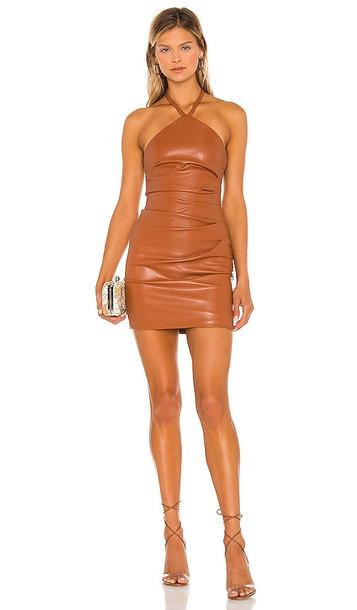 Nookie x REVOLVE Barbella Mini Dress in Brown in tan