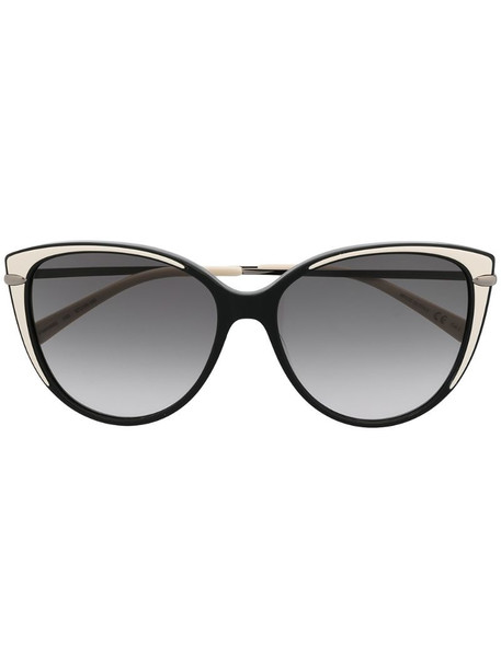 Pomellato Eyewear PM0088S round-frame sunglasses in black