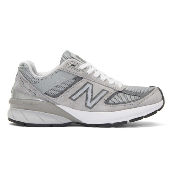 New Balance Grey US Made 990 V5 Sneakers