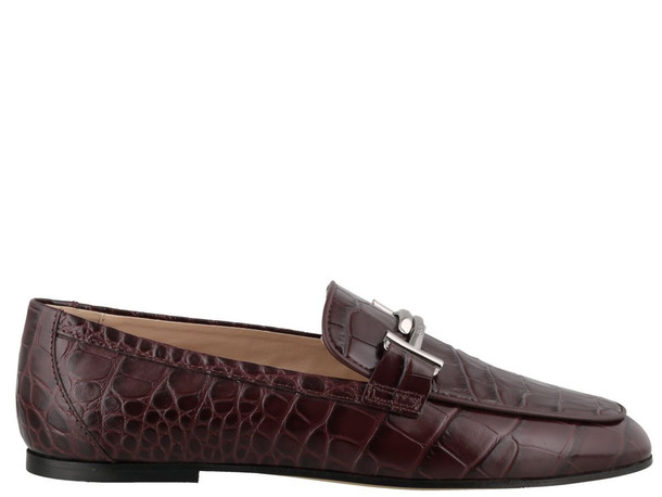 Tods Double T Loafers in brown