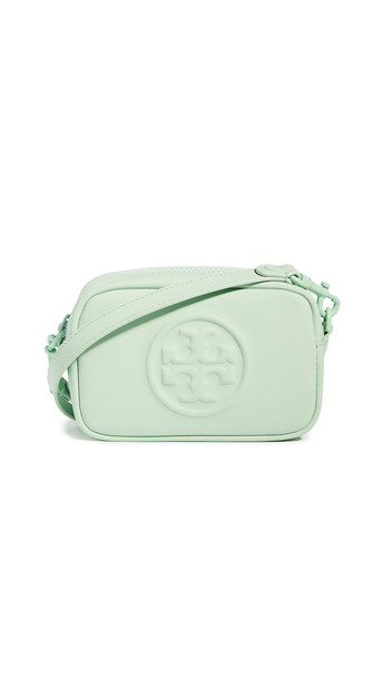 Tory Burch Perry Bombe Matte Crossbody in mint