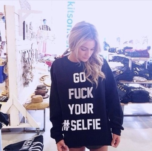 shirt selfie quote on it hipster black