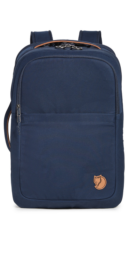 Fjallraven Travel Backpack in navy