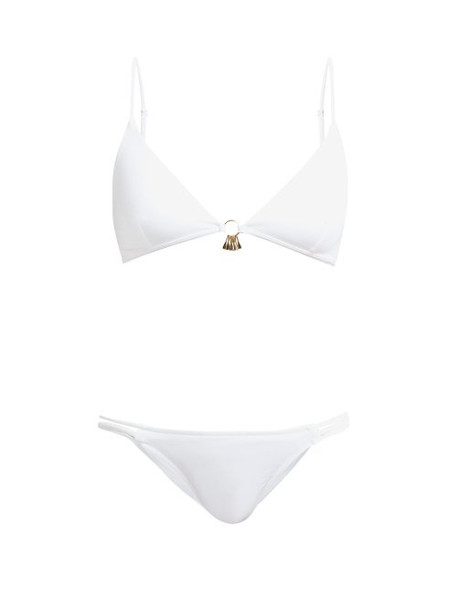 Melissa Odabash - Como Charm Embellished Bikini - Womens - White