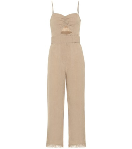 Nanushka Exclusive to Mytheresa – Lourdes jumpsuit in beige