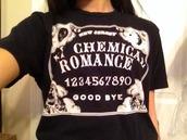 t-shirt,crop,my chemical romance,ouija