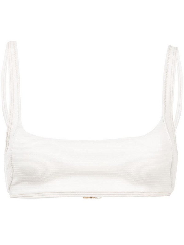 Suboo Kaia bikini top in white