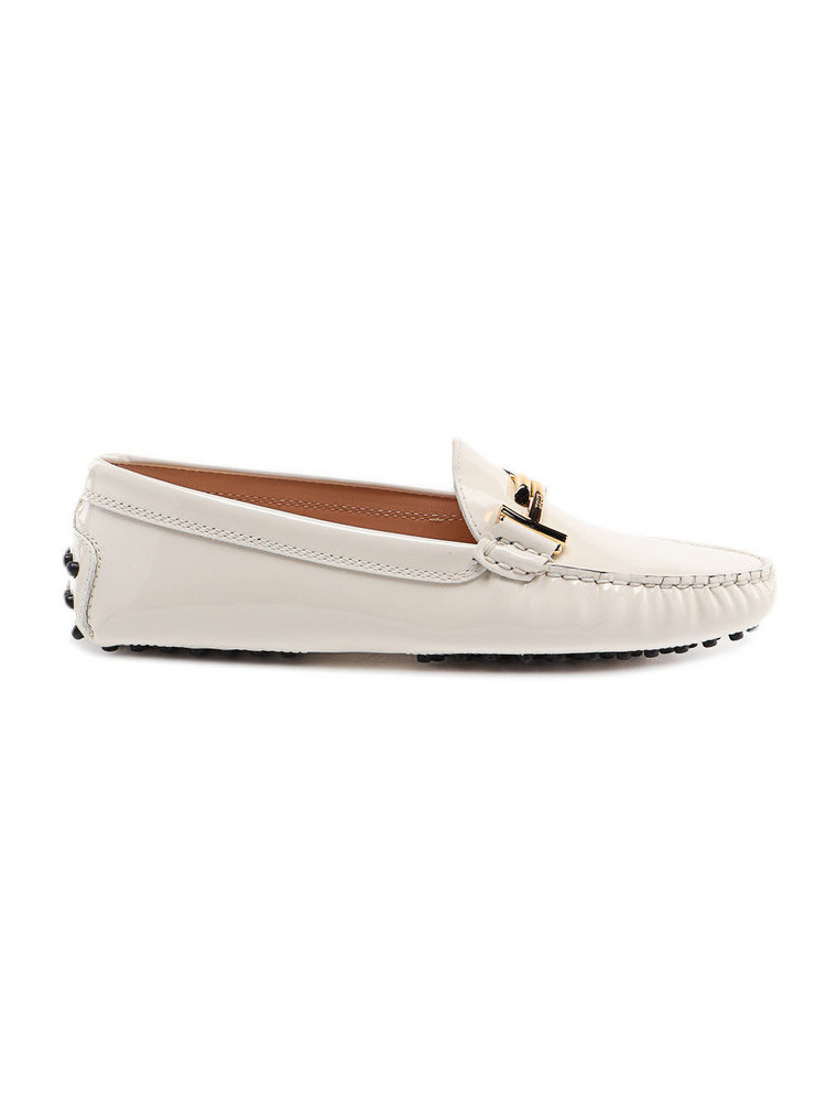 Tods Double T Loafer in bianco