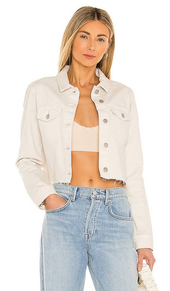 Dr. Denim X REVOLVE Jeanie Jacket in Cream in white
