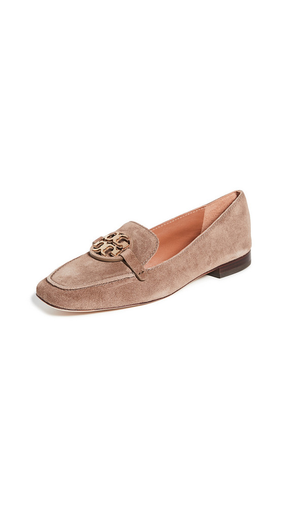 Tory Burch Metal Miller 15MM Loafers in gold