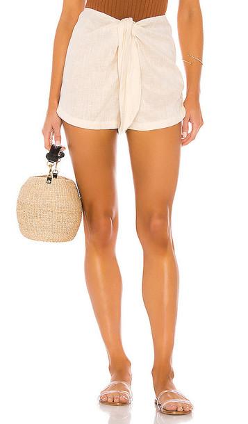 Acacia Swimwear James Short in Cream
