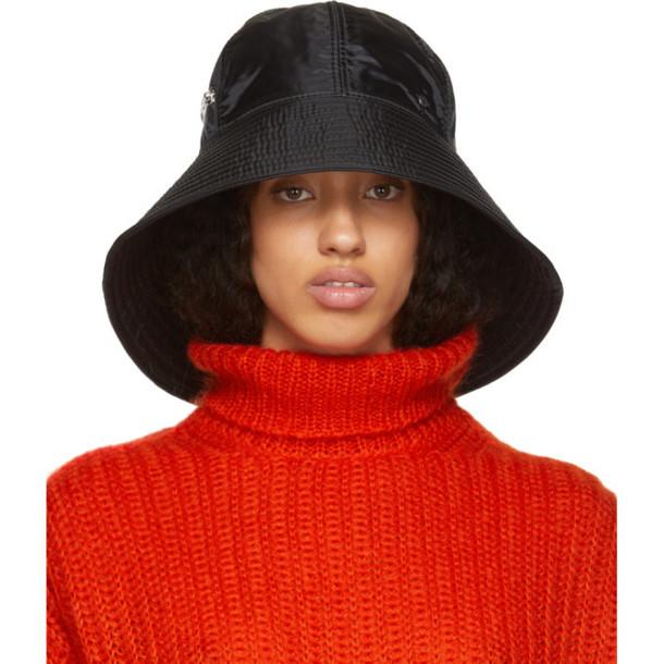 Maison Michel Black Julianne Hat