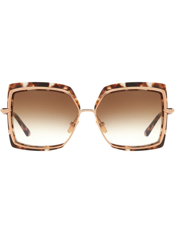 Dita Eyewear Narcissus sunglasses in brown