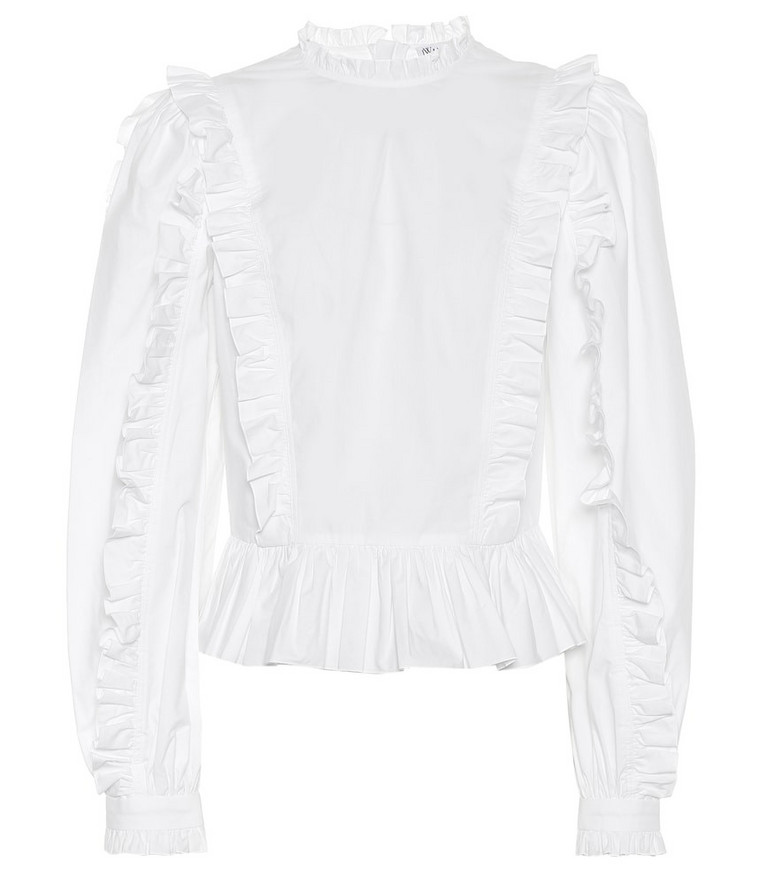JW Anderson Cotton shirt in white